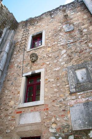 carmo: The Carmo  Ruins and Archaeological Museum,Largo de Carmo Lisbon Portugal