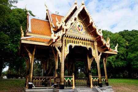 brenda kean: Javanese or Oriental house or temple situated in the Praa do Imprio gardens in the Belem district of Lisbon