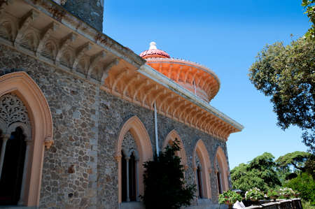 palatial: The Monserrate Palace Portuguese: Palcio de Monserrate is an exotic palatial villa located near Sintra, Portugal, the traditional summer resort of the Portuguese court. Editorial