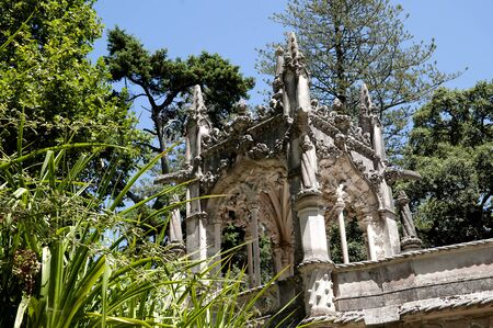 quinta: Quinta da Regaleira is an estate located near the historic center of Sintra, Portugal. It is classified as a World Heritage Site by UNESCO within the Cultural Landscape of Sintra