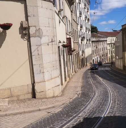 oldest: Alfama is the oldest district of Lisbon, it spreads down the southern slope from the Castle of S�o Jorge to the River Tagus