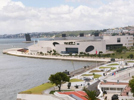 awnings: The Museum of Contemporary Art in Belem Lisbon Portugal.