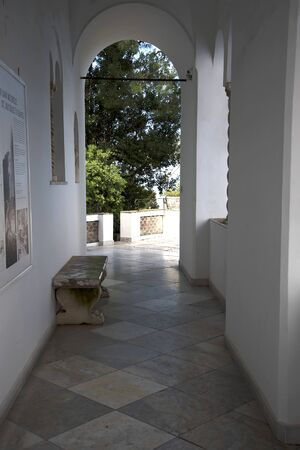 or san michele: The Villa San Michele in Anacapri on the island of Capri Italy