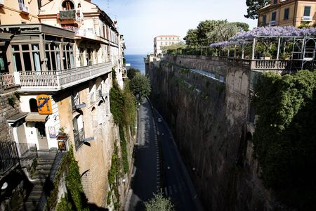 sirens: the Gorge to the Port of Sorrento Italy