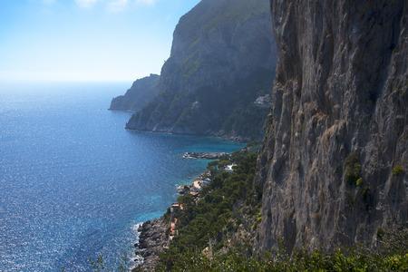 capri: the Coastline of Capri Italy