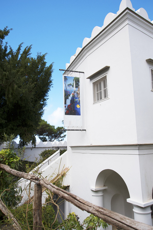 or san michele: The Villa San Michele which was the home built by writer and doctor Axel Munthe in Anacapri on the Island of Capri in Italy