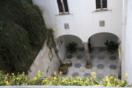 etruscan: The Villa San Michele which was the home built by Axel Munthe in Anacapri on the Island of Capri in Italy