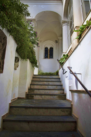 or san michele: The Villa San Michele which was the home built by Axel Munthe in Anacapri on the Island of Capri in Italy