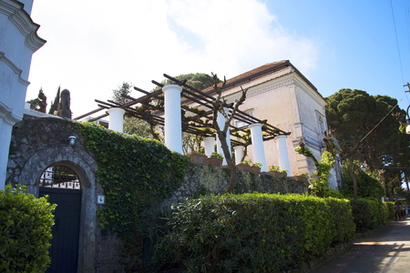 san michele: The Villa San Michele which was the home built by Axel Munthe in Anacapri on the Island of Capri in Italy