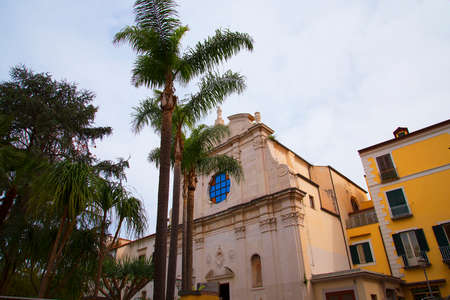 st francis: Church of St Francis in Sorrento Italy Editorial