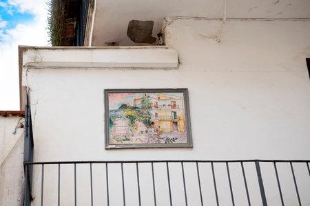 sorrento: quiet corner in Sorrento Italy