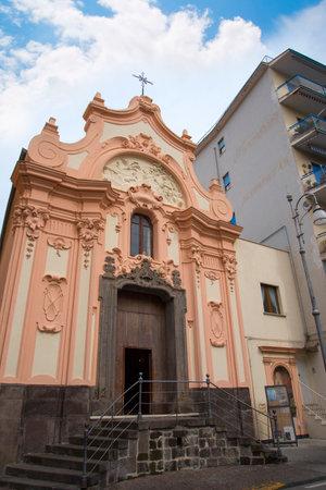 brenda kean: Ornate little church in Sorrento Italy