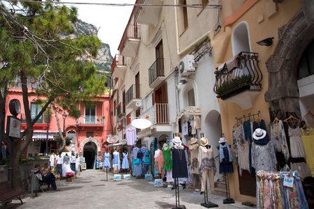 marqueteria: Plazoleta en Positano Italia