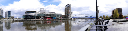 lowry: The Salford Quays was once Manchesters Docklands but now it hosts MediacityUK,the Lowry Theatre and the Imperial War Museum