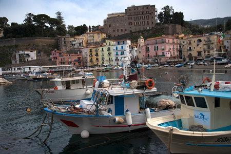 grande: the original fishing harbour of Marina Grande in Sorrento Italy