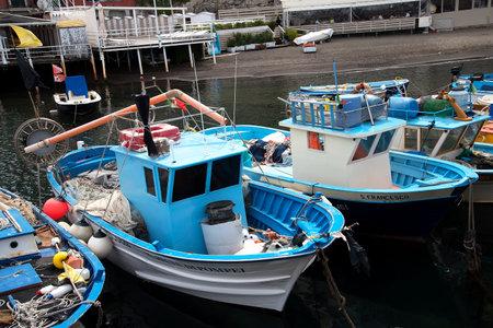 grande: the original fishing harbour of Marina Grande in Sorrento