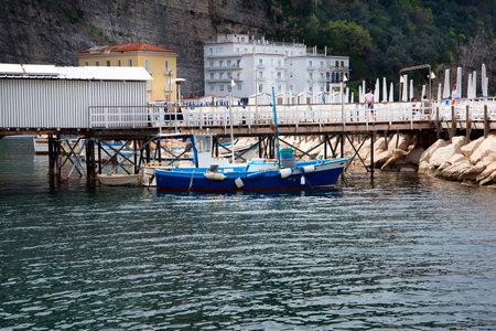 sorrento: Marina Grande the old fishing port of Sorrento Italy
