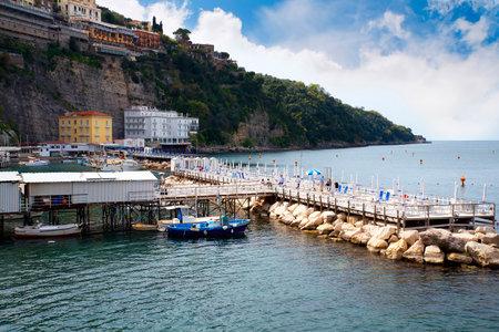 sirens: Marina Grande the old fishing port of Sorrento Italy