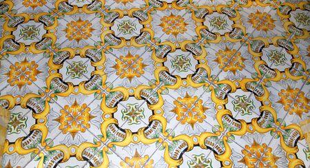 sorrento: Ceramic Tiles on Floor in Sorrento Italy