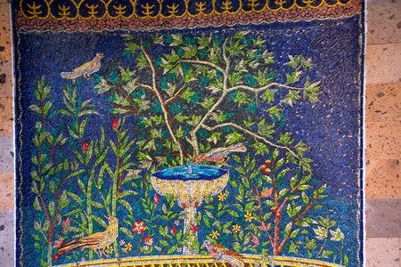 sorrento: Mosaic in Sorrento Italy Editorial