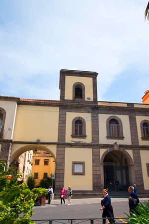 piazza: Piazza Antonino Abate in Sorrento Italy