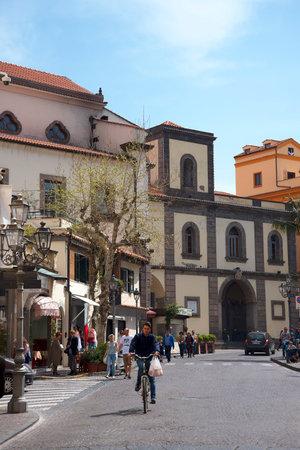 brenda kean: Piazza Antonino Abate in Sorrento Italy