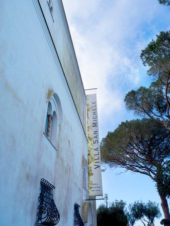 or san michele: Villa San Michele at Anacapri on the Island of capri