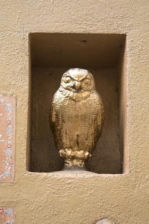 steinbeck: Golden Owl in Positano Italy