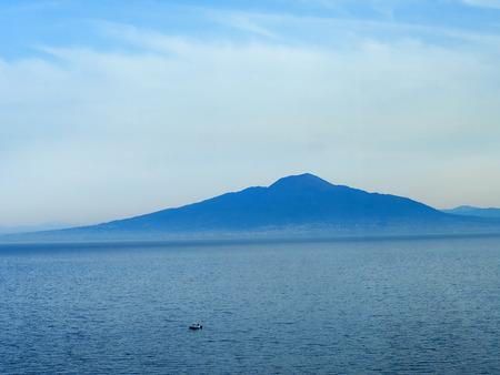 sant agata: Mount Vesuvius and the Bay of Naples