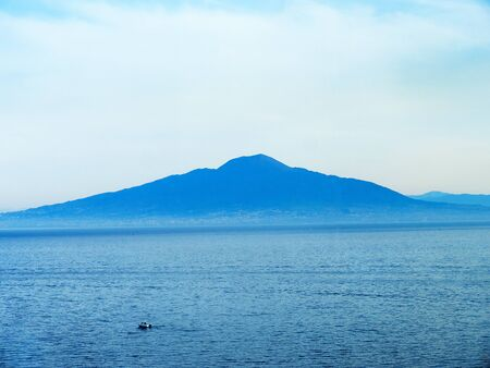 sant agata: Mount Vesuvius and the Bay of Naples