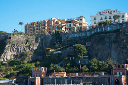 sorrento: the Cliffs of Sorrento in Southern italy Editorial