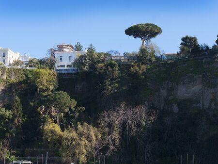 sorrento: The Cliffs of Sorrento Italy