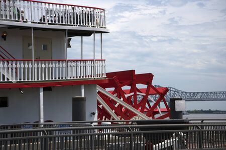pleasure ship: The Paddle Steamer Natchez in New Orleans Louisiana USA
