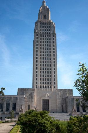 Louisiana State Capital, Building, Baton Rouge Louisiana, USA Editorial