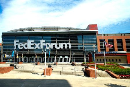 Stadium and Concert Venue in Memphis Tennessee USA Editöryel