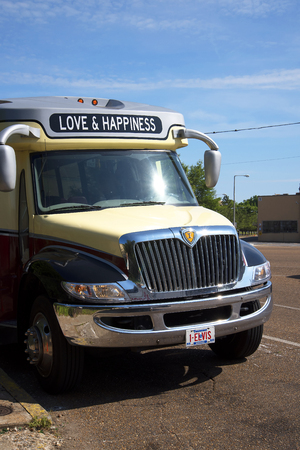 Vehicle with Loving Message in Memphis Tennesee