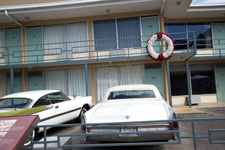 assassinated: Lorraine Motel in Memphis Tennessee where Martin L. King  Jnr  was assassinated Editorial