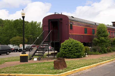 The Historic Casey Jones Home & Railroad Museum in Jackson, Tennessee