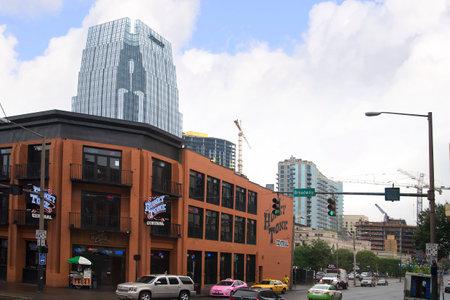 tennesse: Arquitectura en Nashville, Tennessee, EE.UU. Editorial
