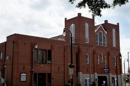 predicador: La Iglesia Bautista Ebenezer en Atlanta Georgia EE.UU., donde el Dr. Martin Luther King fue el Pastor