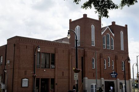 preacher: The Ebenezer Baptist Church in Atlanta Georgia USA where Dr Martin Luther King was the Pastor Editorial
