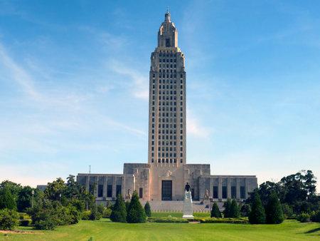 louisiana state: Louisiana State Capital Building in Baton Rouge Louisiana, USA