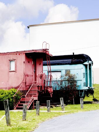 tennessee: Casey Jones Museo del Ferrocarril en Jackson Tennessee