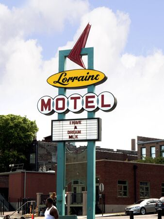 Lorraine Motel in Memphis Tennessee where Martin L. King  Jnr  was assassinated Editorial