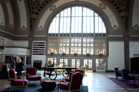 historical periods: Waiting Hall  at the Chattanooga Choo Choo Station in Tennessee USA