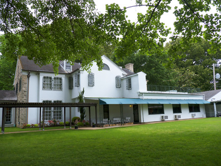 graceland: Graceland is the home of Singer Elvis Presley in style of an antebellum  mansion and a magnet for music fans