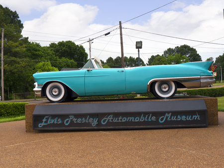 graceland: Elvis Car Collection at Graceland Memphis Tennessee USA Editorial