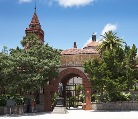 Flagler College in St Augustine Florida USA Editorial