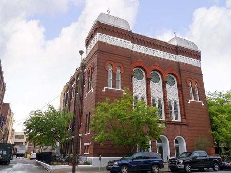 brenda kean: Synagogue in Savannah Georgia Editorial