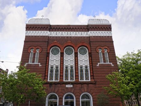 synagogue: Synagogue in Savannah Georgia Editorial